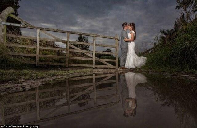 这些结婚照超美 但看到摄影师笑喷了
