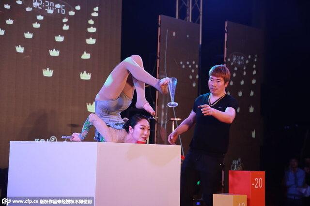 综合资讯中国第一柔术美女刘藤登台