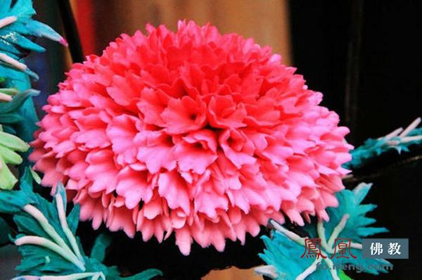 实拍:塔尔寺酥油花 世界上最美的花