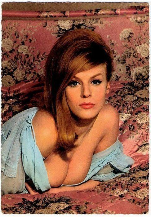 50年前西方美女标准:胸部丰满