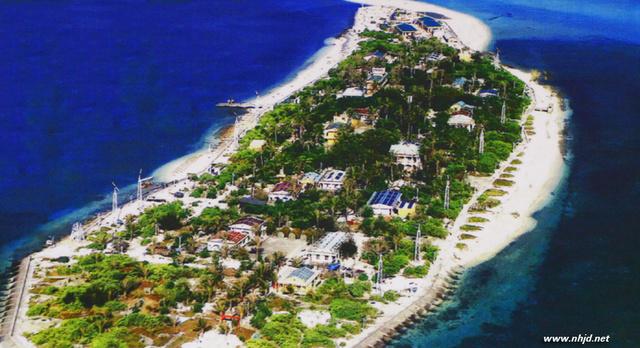 越南海军非法在南沙填海造岛