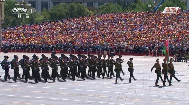 高清直击抗战胜利70周年阅兵现场