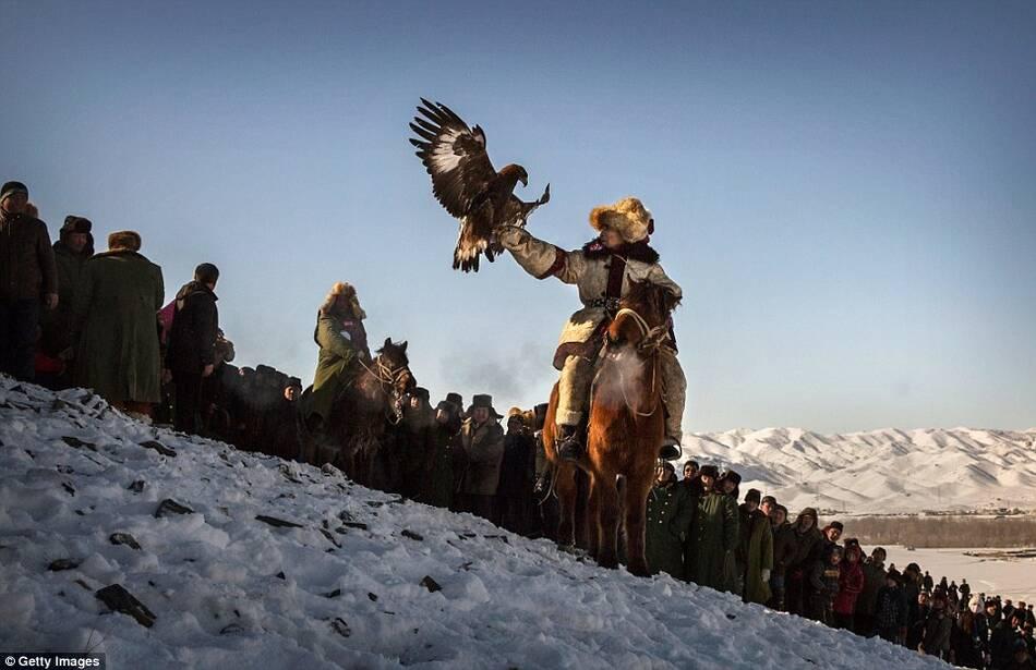 中国最后的金雕捕猎民族 - 雷石梦 - 雷石梦(观新闻)