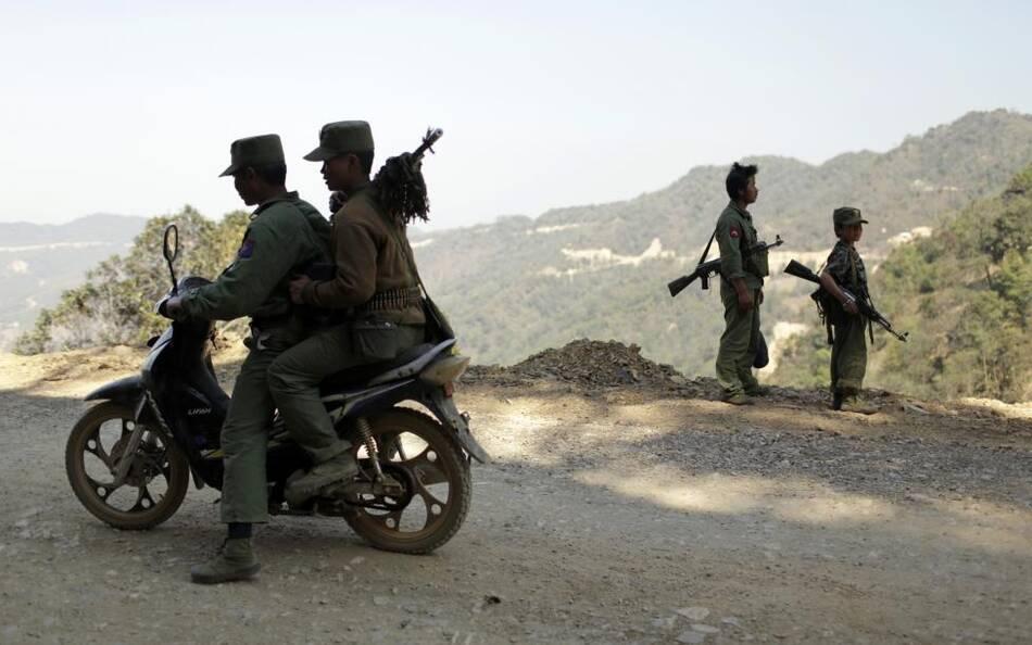 缅甸果敢同盟军现大量童子兵