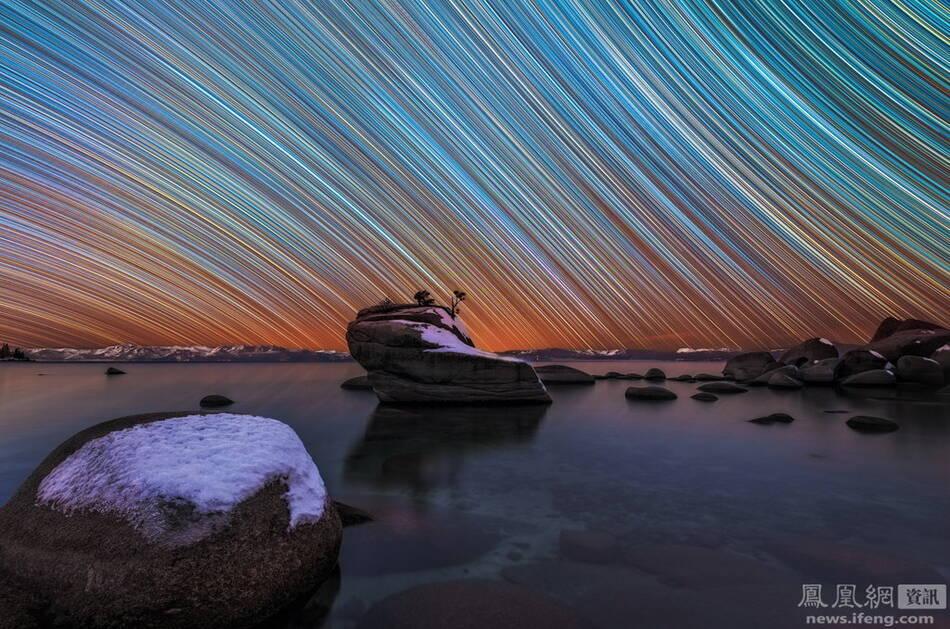 【转】夜空星轨 - 龙潭客 - 依山小筑
