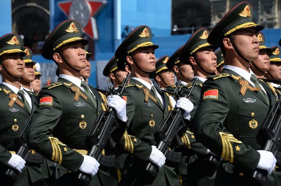 振国威,壮军威——莫斯科红场上的中国军人 - 秋野 - 秋野