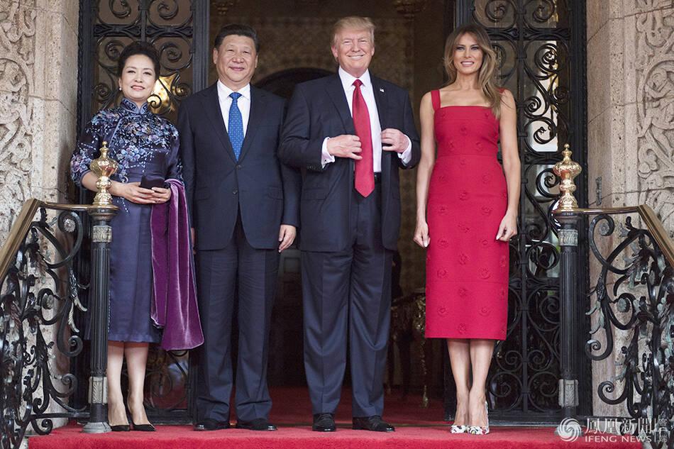 圆满成功!国家主席习近平与美国总统特朗普首次...
