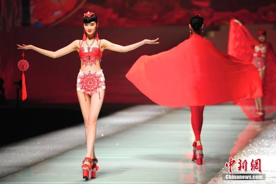 2016魅力东方中国国际内衣创意设计大赛揭晓_河南频道图片
