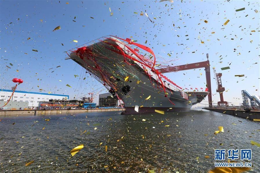 巨龙入海  中国首艘国产航母正式下水【组图】 - 春华秋实 - 春华秋实 开心快乐每一天