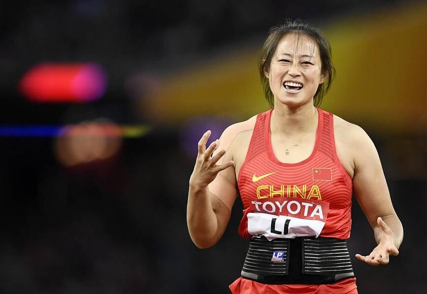 女子标枪-中国摘银铜牌 捷克老将夺冠