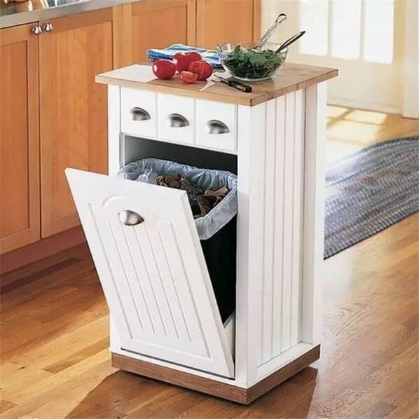 厨房的垃圾箱,99%的人装错了地方!