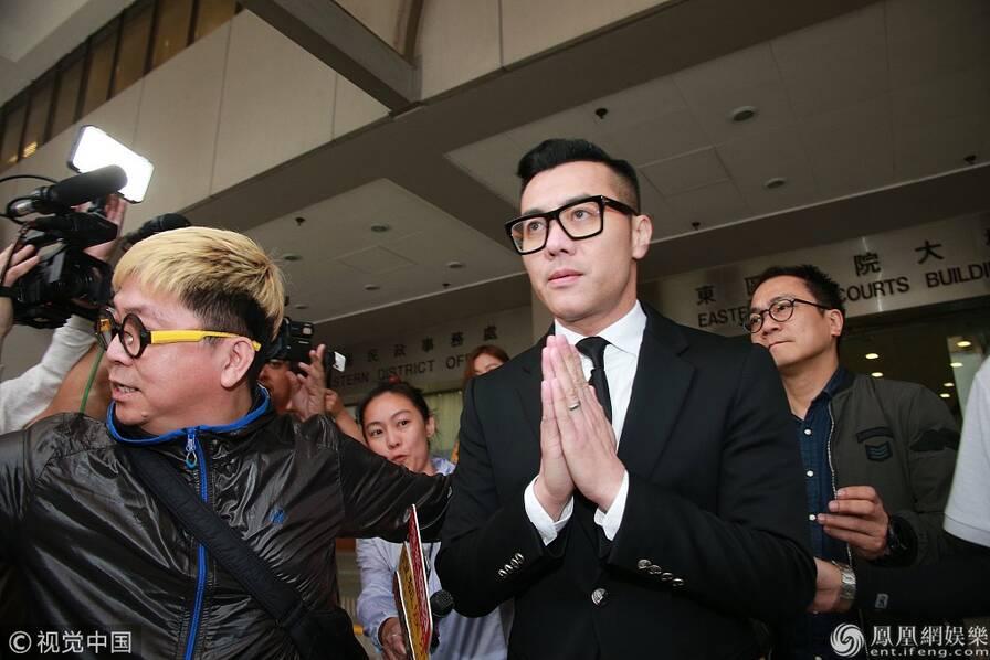 梁汉文因这事被判有罪 法庭外双手合十致歉