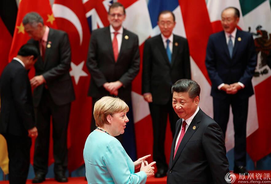 G20峰会各国领导人合影画面 - 快乐之家 - 快乐之家