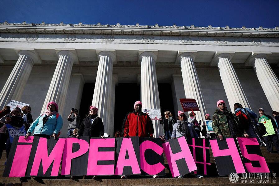美国数十万人参加妇女游行 反对特朗普 (组图)