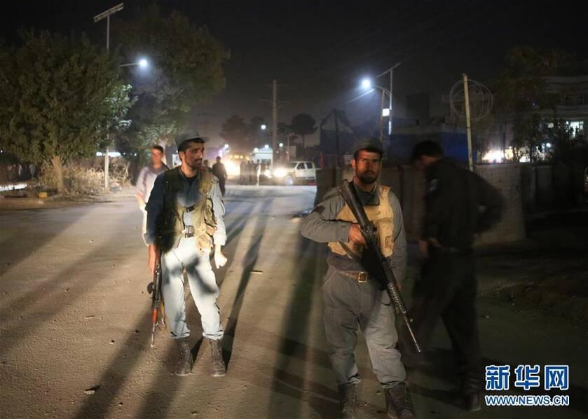 阿富汗首都一所军校遇袭致15死4伤