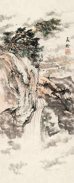 清逸灵秀 宋美龄绘画作品欣赏 - 拂柳 - 拂柳的博客