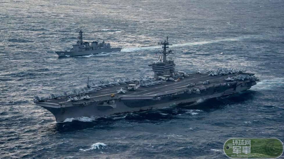 离开南海闯东海:美航母与日舰在东海联合演习 - 野郎中 - 太和堂
