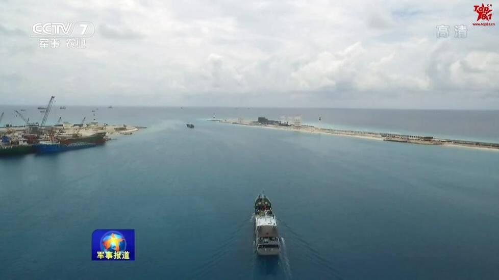 2017年02月04日引用:南海不沉航母:中国西沙南沙岛礁已成海上城市 - 李平兴 - 神明五极推手中心