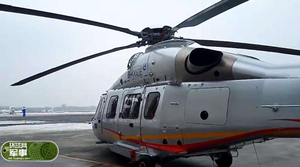接班直9 实拍国产AC352直升机首飞成功(图)