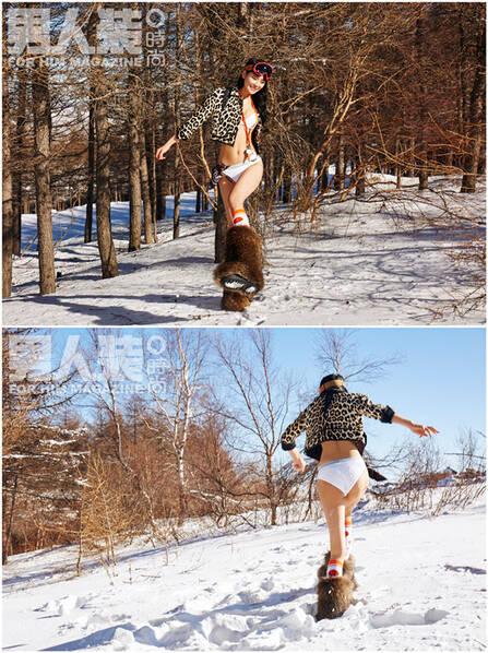 她在零下29度的天气里穿成这样,真相令人心酸… - 春华秋实 - 春华秋实 开心快乐每一天