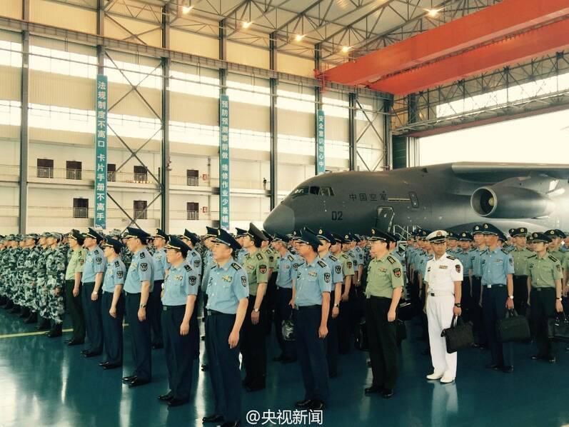 """喜报!""""胖妞""""运-20正式列装空军部队(组图) - 和蔼一郎 - 和蔼一郎"""