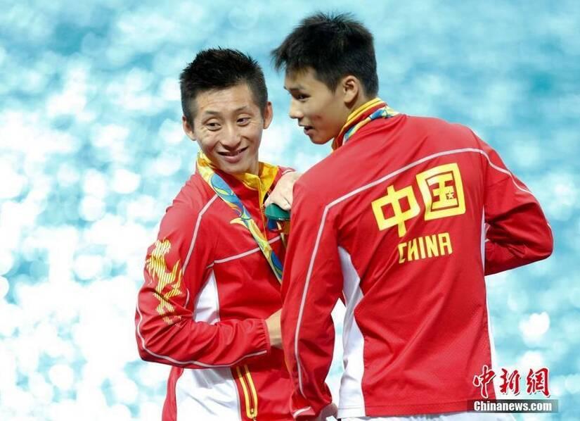 林跃/陈艾森男双十米台夺冠 中国队实现四连冠