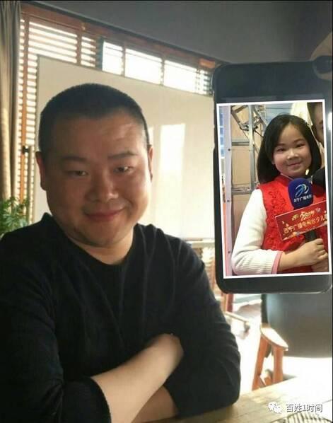 小姑娘撞脸岳云鹏 网友:天呐,太像了(组图)
