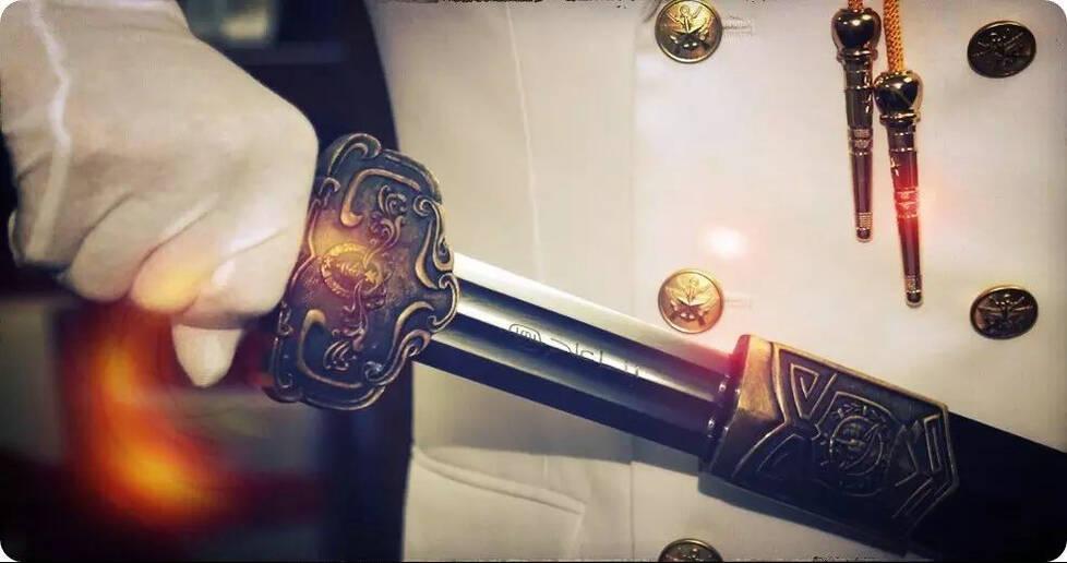 中国海军首次举行授剑仪式:剑指深蓝 舍我其谁 - 野郎中 - 太和堂