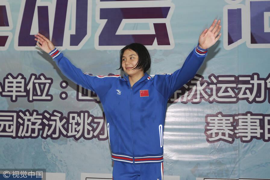 女版孙杨!中国泳坛诞生12岁新蝶后 (组图)