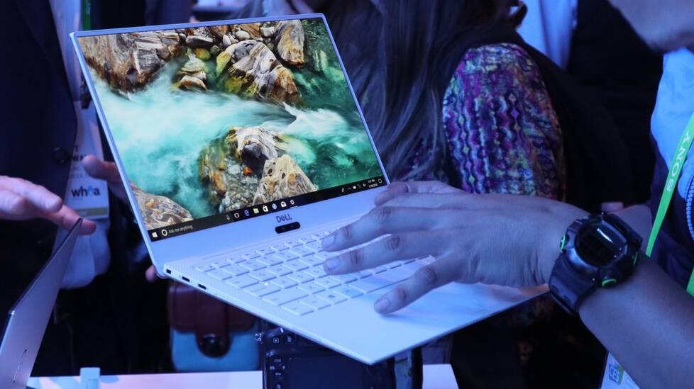 Dell新XPS13图赏:白色版窄框屏宛如MIX2羊脂玉 引科技 第5张
