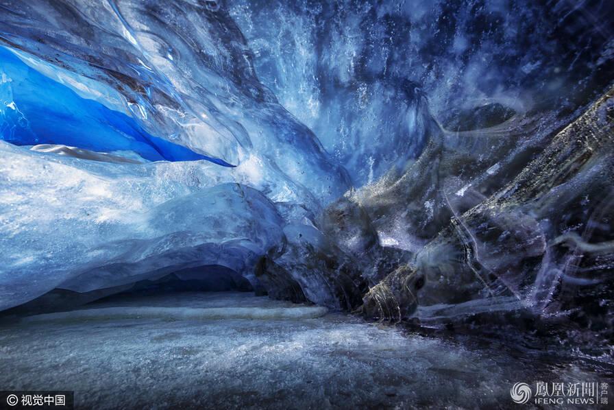 探访加拿大冰川洞穴-学网-中国IT综合门户网站