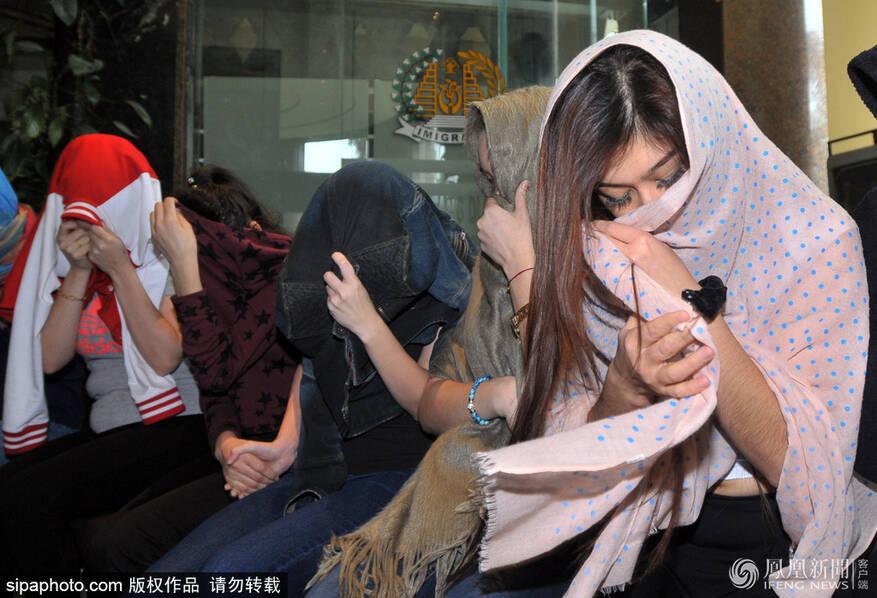 印尼抓获32人跨国卖淫团队 含5名中国女性(组图)
