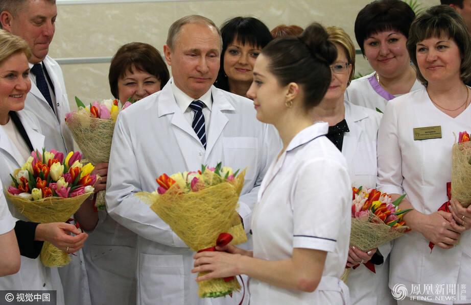 三八妇女节,普京去了哪里?(高清组图)