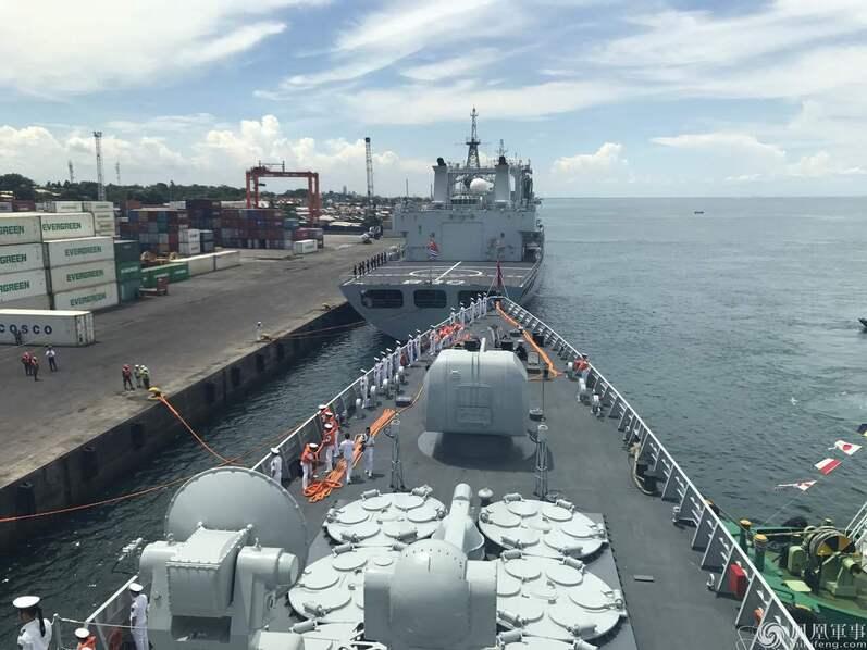 中国海军访菲,杜特尔特女儿码头迎接 欢迎标语亮了 - 野郎中 - 太和堂