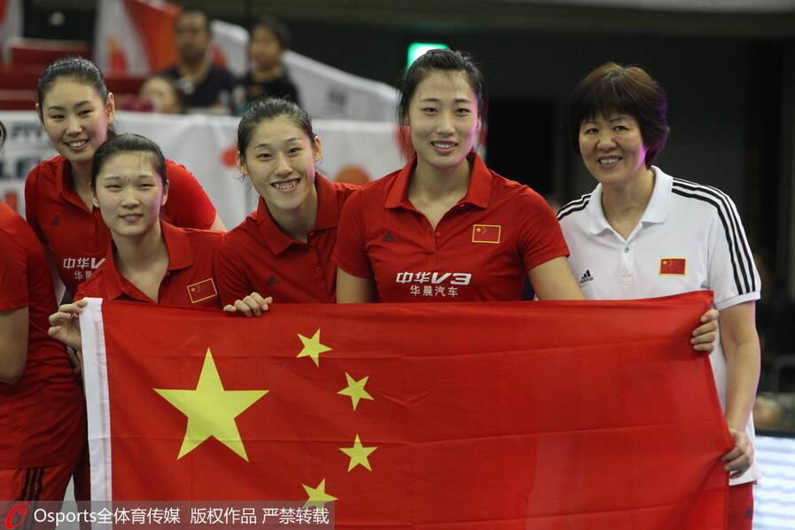 2015年女排世界杯 中国3-1日本 时隔11年重夺世界冠军 - li-han163 - 李 晗