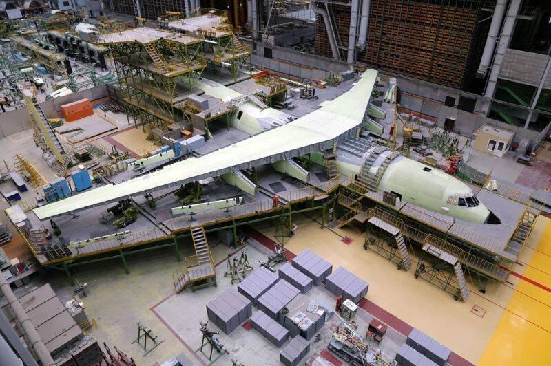 大飞机怎么造?俄罗斯公开最新运输机生产线