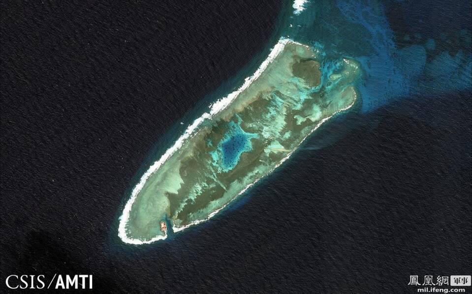 敢教南海换新天:中国南海三年永曙礁地变迁 - 顺其自然 - 顺其自然的博客