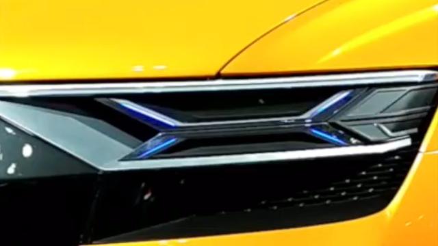 这玩灯的已经到一定境界了,日本东京车展上的奥迪Q8车灯展示
