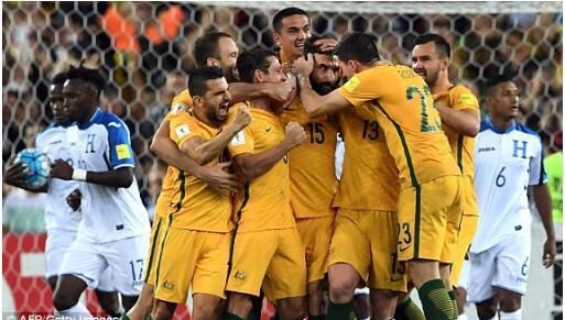 澳洲晋级创亚洲足球历史 亚足联首次5队征战世界杯