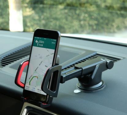 威饰达车载手机支架 多功能出风口仪表台吸盘式汽车导航仪手机座