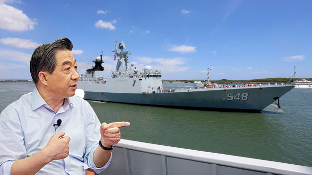 张召忠节目说漏嘴 中国海军又一关键技术得到突破