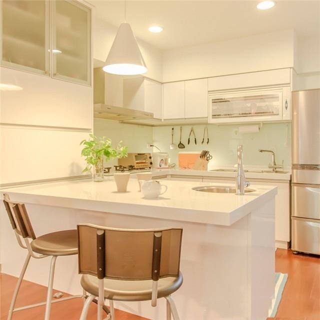 如今流行在厨房设计岛台,原来厨房岛台可以这么设计!