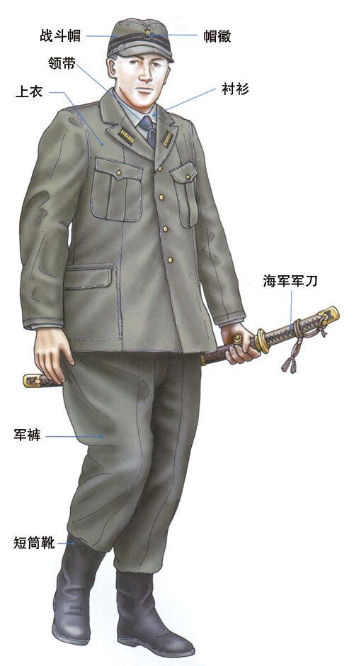军事资讯_图解 日本海军军装 军官第三种军装_凤凰军事