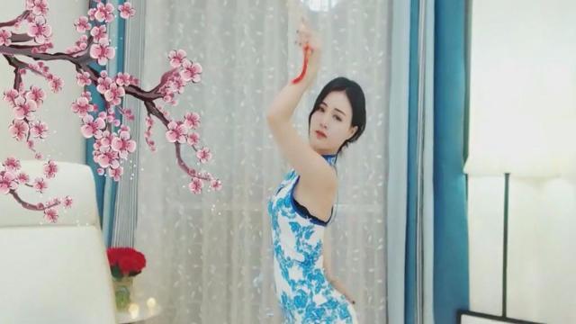 视频:气质美女妩媚伞舞《风筝误》太美了