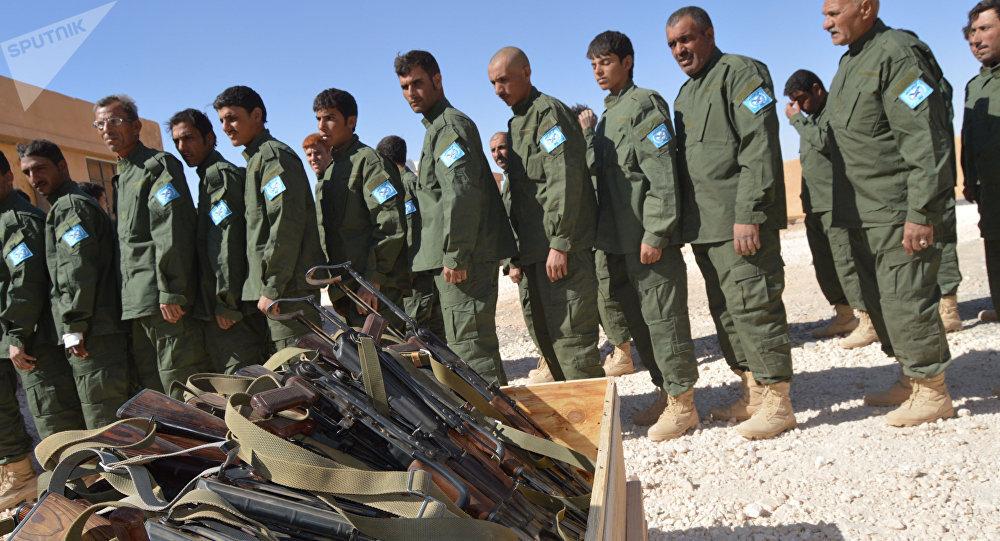 坦克--美整合叙反对派武装:发薪水配重武器 人数将达30000