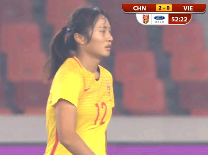 18岁小花斩获国家队生涯首球 曾一脚把女足送到世青赛