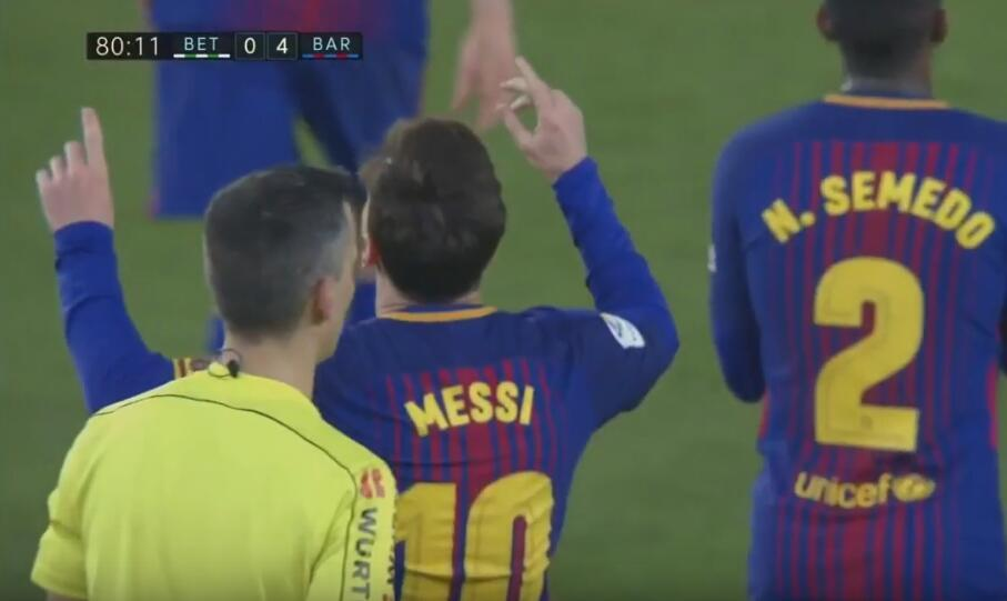 被激怒了!梅西26分钟独造3球回应+连续5战传射建功