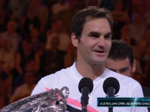 历史第一人!费德勒登顶澳网 获生涯第20个大满贯