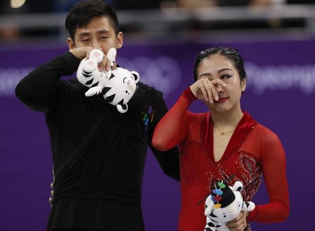 韩聪/隋文静冲金失败!中国冬奥代表团恐面临0金牌