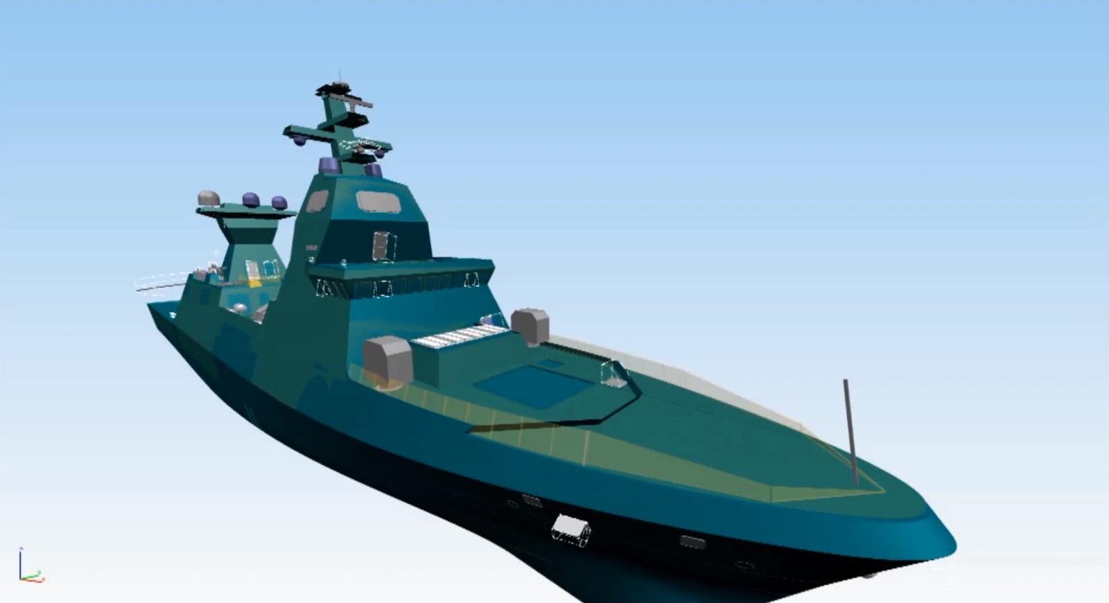 """小国大志,以色列打造""""世界最强护卫舰"""""""